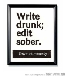 funny-quote-Ernest-Hemingway-writing